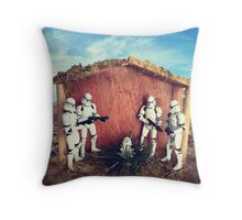 Jesus was a Clone Trooper Throw Pillow