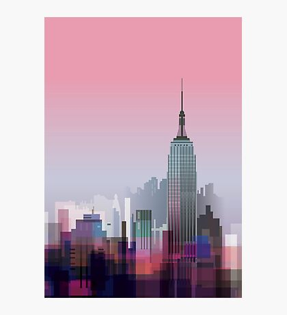 New york, NYC city ! Photographic Print
