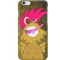 Crazy chicken iPhone Case/Skin