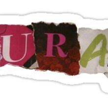 Klaine's Courage - Glee Sticker