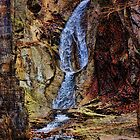 Inside Buttermilk Falls by PineSinger