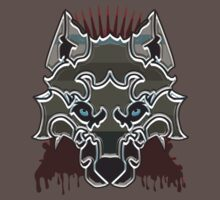 Ned Stark Dire Wolf Badge by Lordofthejungle