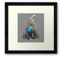 Adventure Time - Finn the Adventurer Framed Print