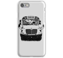 school bus iPhone Case/Skin