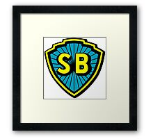 Shaw Brothers Logo Framed Print