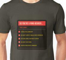 So you're a ring-bearer 2 Unisex T-Shirt