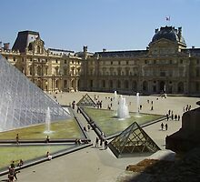 The Louvre by ValSteve59