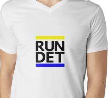 RUN DET Mens V-Neck T-Shirt