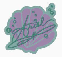 Ariel Symbol & Signature Kids Clothes