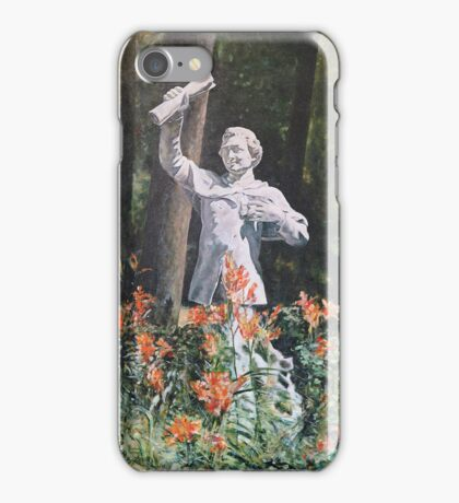 Turcan's The Student Among Lilies iPhone Case/Skin