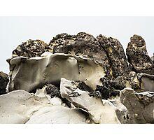 Tafoni Ledge with Hole Photographic Print