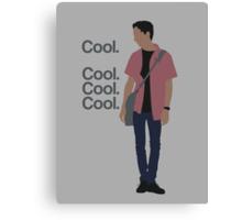 Cool... Cool. Cool. Cool. Canvas Print
