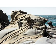 Tafoni Globe and Diagonal Crevices Photographic Print