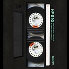 Classic Retro Sony Gold cassette Tape by Johnny Sunardi