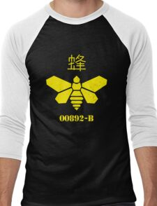 Bee Barrel Men's Baseball ¾ T-Shirt