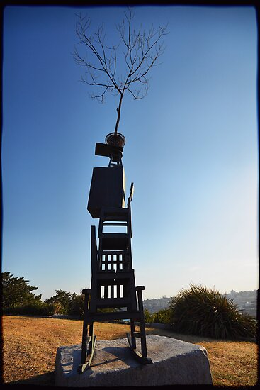 """Sculpture by the Sea 2013 - Byeong-Doo Moon """"Your Place 2013 #1"""" by andreisky"""
