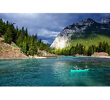 Bow River in Banff Photographic Print