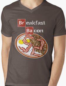 Breakfast Bacon Mens V-Neck T-Shirt