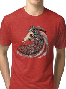 Beautiful Horse Old Tri-blend T-Shirt
