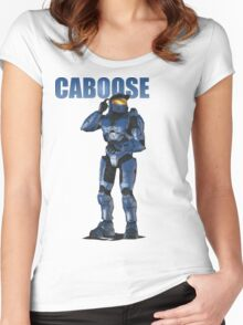 Caboose Women's Fitted Scoop T-Shirt