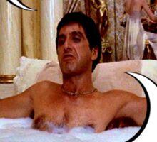 """You Know What Capitalism Is?"" Tony Montana, Scarface Sticker"