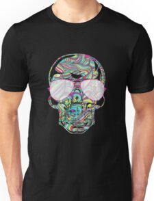Skull Color Waves Unisex T-Shirt