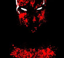 Red Hood Splatter by justin13art