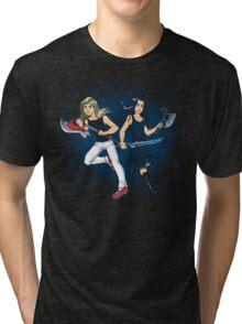 Axe Sisters Tri-blend T-Shirt