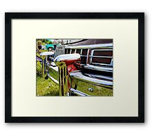 Car bumper 2 Framed Print