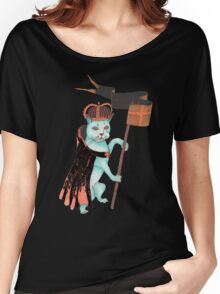 cat as king Women's Relaxed Fit T-Shirt