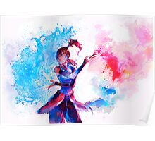 Avatar Watercolor Poster