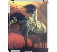 Creepy horse iPad Case/Skin