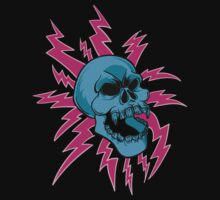Electric Boogie Skull by FunButtonPress