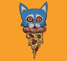 Pizza Kitten by FunButtonPress