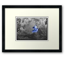 ©HCS Cloudy Monster IA Framed Print