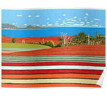 Landscape Harmony, Table Cape Poster
