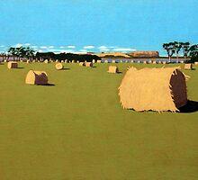 Harvest near Stanley by Richard Klekociuk