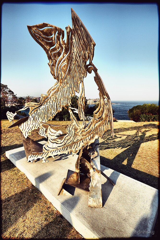 """Sculpture by the Sea 2013 - Michael Snape """"Breach"""" by andreisky"""