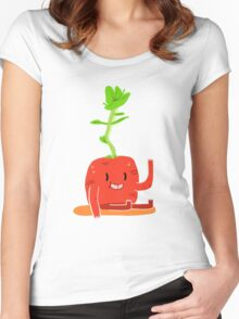 LIL TURNIP Women's Fitted Scoop T-Shirt