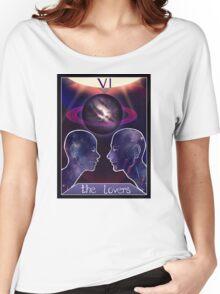 """""""The Lovers"""" Tarot Card Shirt (Saturn!) Women's Relaxed Fit T-Shirt"""
