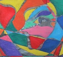 Colorful Trapped Eye by LzBRL