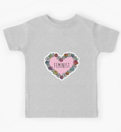 """Feminist"" merch! Kids Tee"
