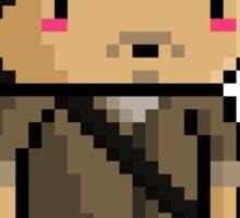 Pixel Walking Dead - Glenn Sticker