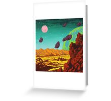 Spacescape Greeting Card