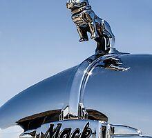 Classic 1965 Mack fire truck by Celeste Mookherjee