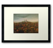 Holy Hill Rain Storm Framed Print