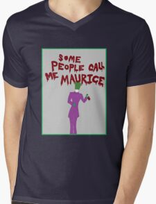 Some People Call Me Maurice Mens V-Neck T-Shirt