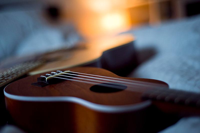 Ukulele and Guitar by Zak Milofsky