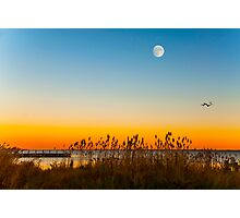 Sunset At Osprey Point Photographic Print