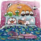 Too afraid too sleep by StressieCat